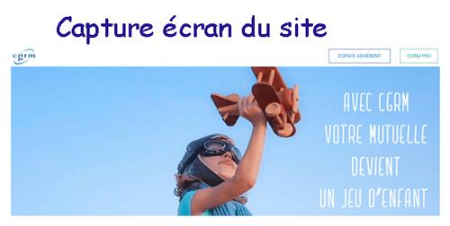 Consulter le site www.cgrm.fr