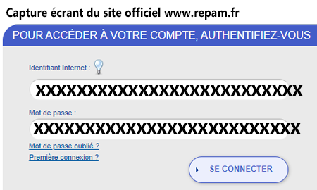 Se connecter à son compte mutuel repamgestion.fr