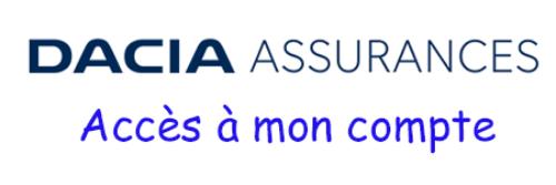 Connexion au compte dacia assurance