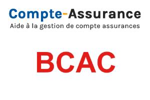 Connexion à l'espace adhérent BCAC gestion santé