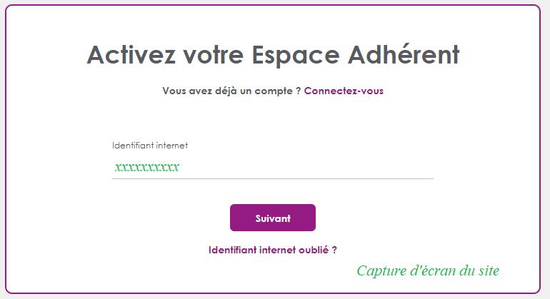 démarche d'inscription sur www.asaf.asso.fr