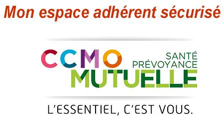 Mon espace adhérent CCMO mutuelle