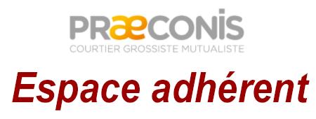 Mon espace client personnel praeconis.fr.