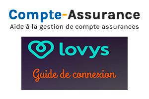 Se connecter à Lovys assurance espace client