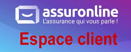 Accéder à mon espace client Assurance Online.